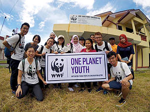 One Planet Youth visit Malaysia's Largest MPA